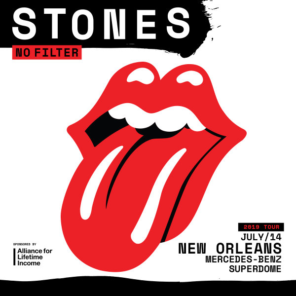 None -  The Rolling Stones, No Filter Tour, Mercedes-Benz Superdome, New Orleans, Sunday, July 14