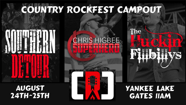 None - Win Camping Passes for Country Rockfest Campout @ Yankee Lake