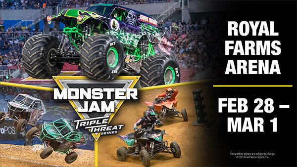 image for Monster Jam: Triple Threat Series