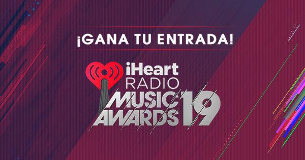None -    ¡Escúchanos y GANA un viaje a nuestros iHeartRadio Music Awards 2019!