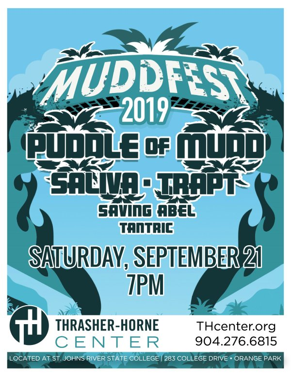 None -  MUDDFEST 2019: Puddle of Mudd, Saliva, Trapt, Saving Abel, and Tantric