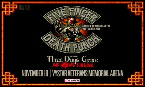 None - Five Finger Death Punch with Three Days Grace, Bad Wolves & More!