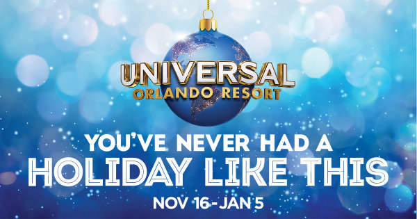 None - 107.3 PLANET RADIO Wants To Send You To Universal Orlando Resort™ This Holiday Season!