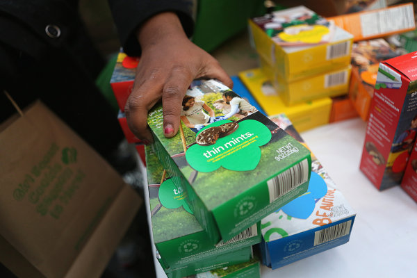 None - Register to win Girl Scout Cookies!!