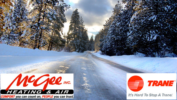 None - Win Warmth for the Winter for someone in need from McGee Heating & Air and Trane!
