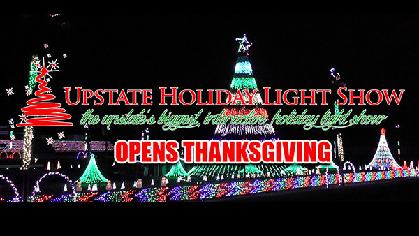 None - Win tickets to the Upstate Holiday Light Show!