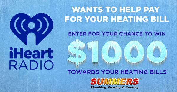 None - iHeartRadio Wants To Help Pay For Your Heating Bill