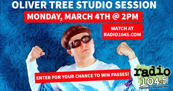 None -     Win Your Invite: Oliver Tree Studio Session 3/4 @ 2pm