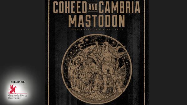 None -    Win tickets to seeCoheed & Cambria + Mastodon @ BB&T Pavilion