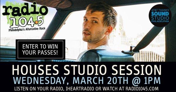 None -      Win Your Invite: Houses Studio Session 3/20 @ 1pm