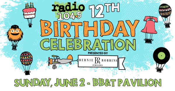 None -     Win Tickets for our 12th Birthday Celebration Before You Can Buy 'Em @ 8:40, 11:40, 2:40 & 5:40