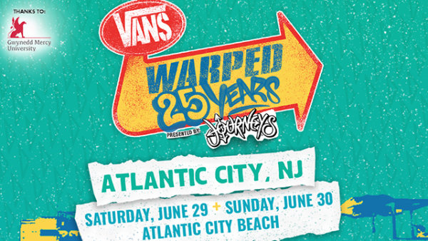 None -   Win 25th Anniversary of The Vans Warped Tour tickets @ 8:40a, 11:40a, 2:40p & 5:40p
