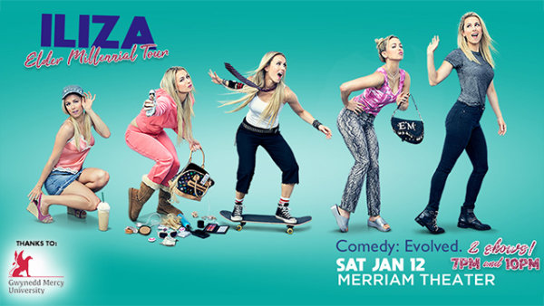 None -      Win tickets to see Iliza Shlesinger at the Merriam Theater