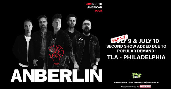 None -     Win tickets to see Anberlin @ TLA on July 10th