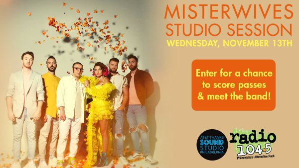 None - Win Your Invites: Misterwives Studio Session - Weds. Nov 13