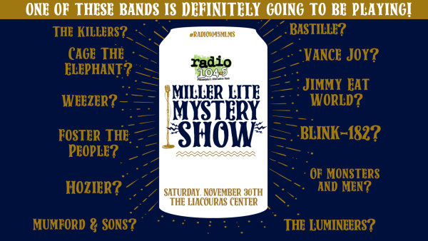 None - Win Radio 104 5 Miller Lite Mystery Show tickets @ 8:40, 11:40, 2:40 & 5:40