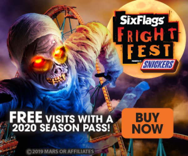 None - Win A Family 4-Pack To Six Flags Fright Fest!