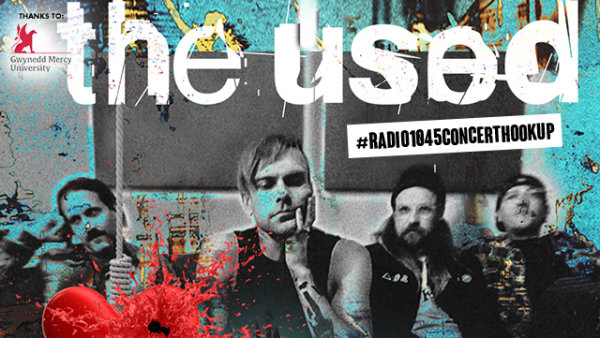 None - #Radio1045ConcertHookup: The Used @ TLA