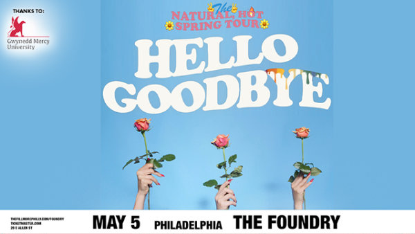None -       Win Tickets to see Hellogoodbye live at the Foundry on May 5th