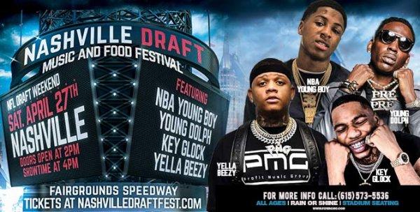 None -             Nashville Draft Music & Food Festival