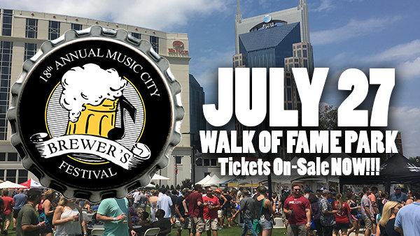 None -           Music City Brewer's Festival