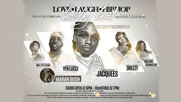 None - Love Laugh Hip-Hop: Holiday Fest