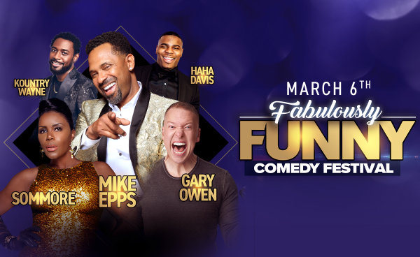 None - The Fabulously Funny Comedy Festival featuring Mike Epps