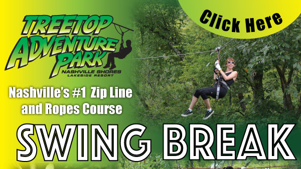 None -         Treetop Adventures @ Nashville Shores