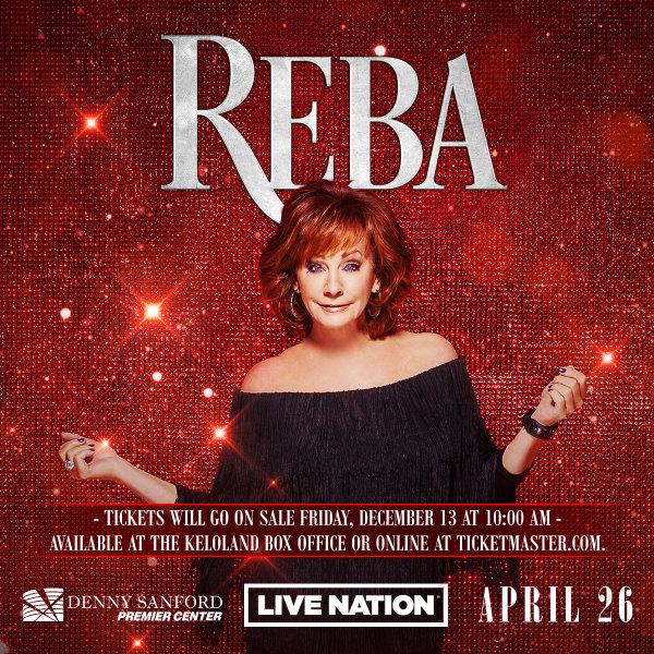 None - Win tickets to REBA!