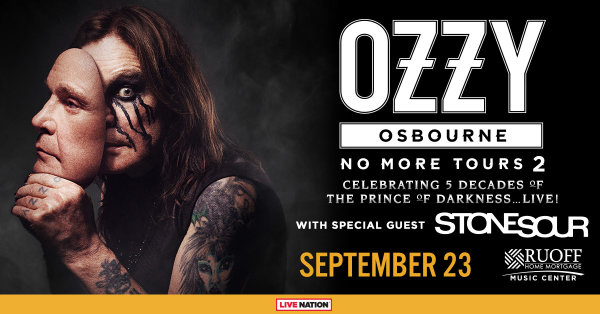 Win Tickets: Ozzy Osbourne No More Tours 2