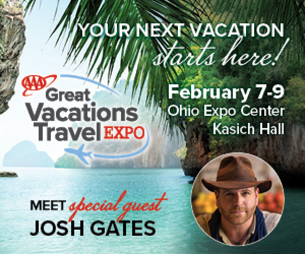 None - Win tickets to AAA Great Vacations Travel Expo
