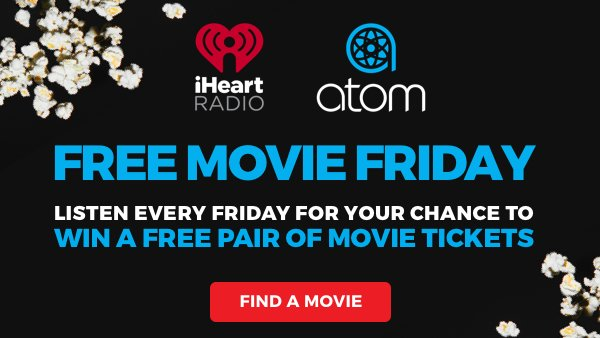 None - Free Movie Fridays with Atom Tickets!