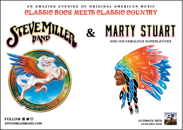 None - Win tickets to Steve Miller Band and Marty Stuart at The AMP!