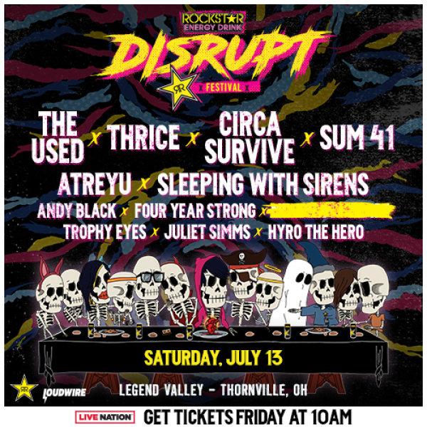 None - The Rockstar Energy Drink DISRUPT Festival