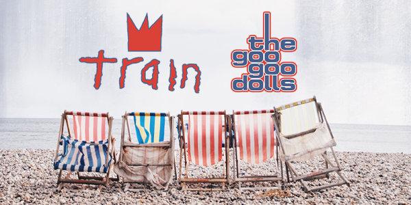 None -  See Train and the Goo Goo Dolls at The AMP like a VIP!