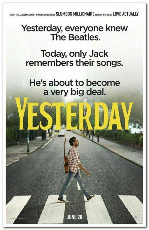 None - YESTERDAY