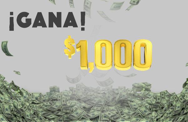 None - Gana $1000 dieciséis veces al día con Acción 97.9!
