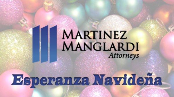 None - Esperanza Navideña gracias a Martinez Manglardi tus Abogados en Orlando.