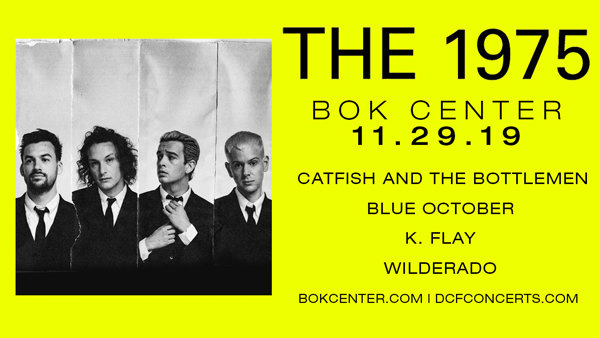 None - Win With Manny: Tickets To The 1975, Catfish and the Bottlemen, Blue October, K Flay & Wilderado!
