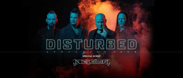 None - See Disturbed in Cleveland!