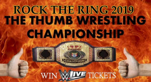 None -  Register for ROCK THE RING For A Chance To Win Front Row WWE LIVE Tickets