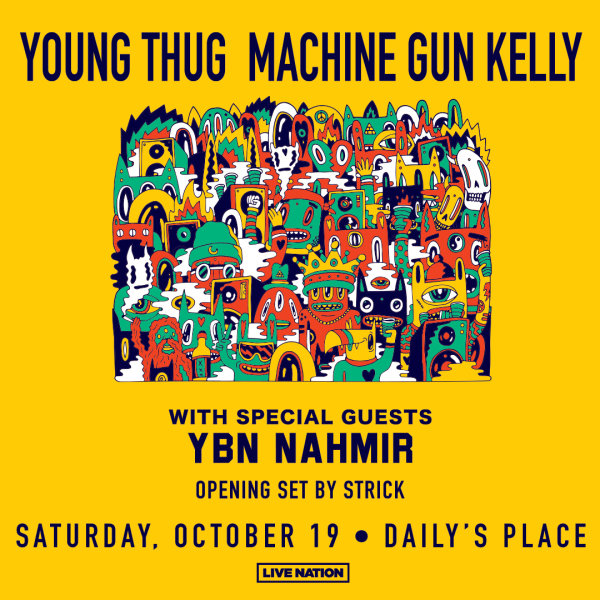 None - Young Thug and Machine Gun Kelly Live at Daily's Place!