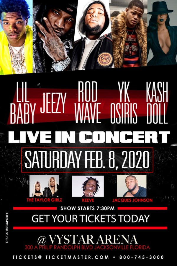 None - Win A Pair Of Tickets To See Lil Baby and Rob Wave