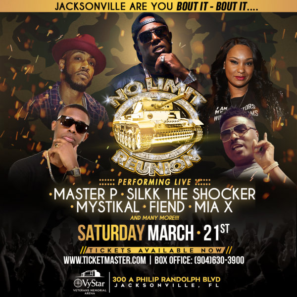 None - Win A Pair Of Tickets For No Limit Reunion Tour Featuring Master P