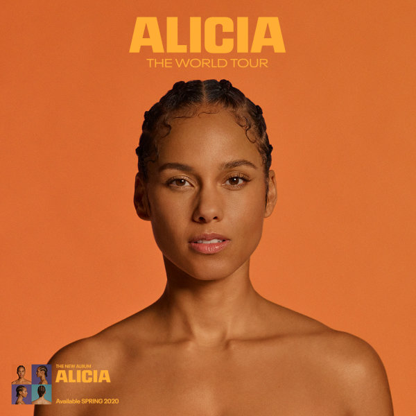 None - Win A Pair Of Tickets To See Alicia Keys July 28th at Daily's Place