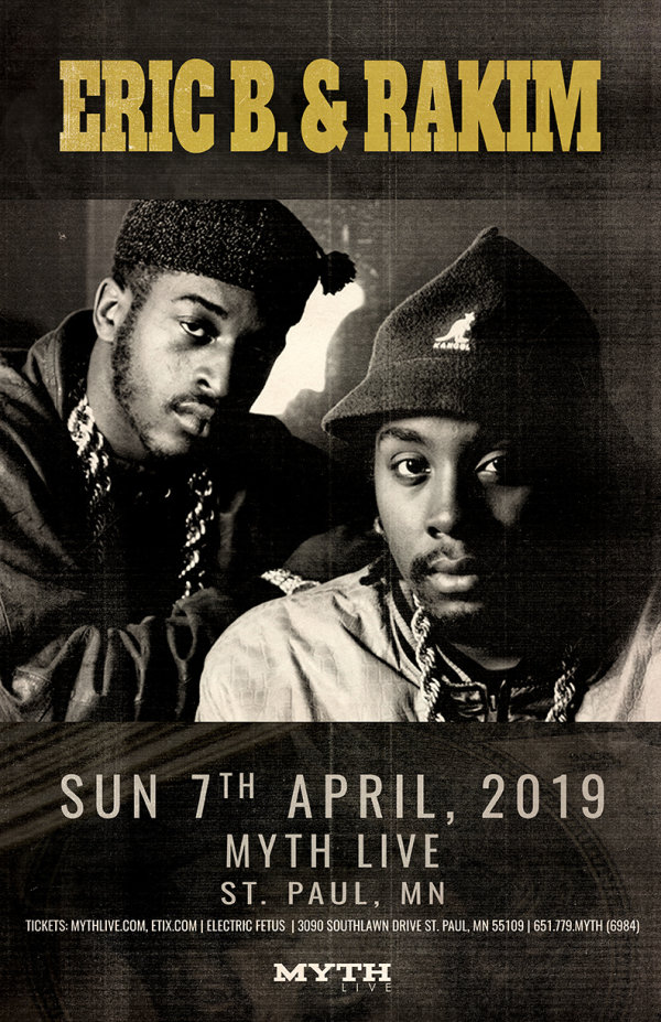 None -  Enter to win tickets to see Eric B. & Rakim