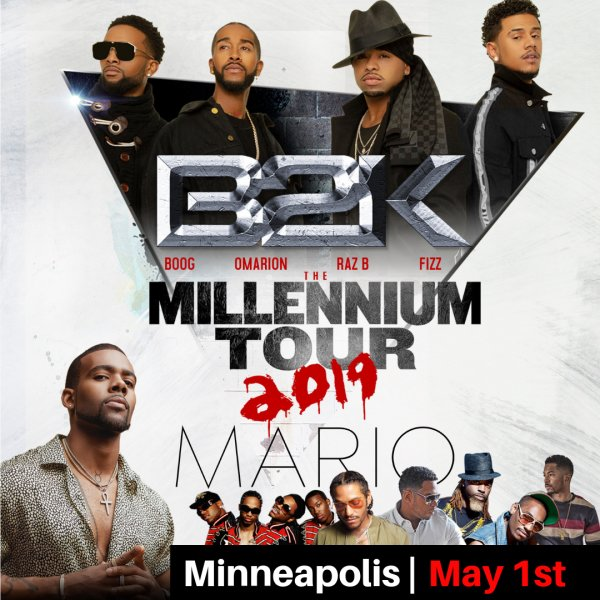 None - Enter to win tickets to The Millennium Tour!