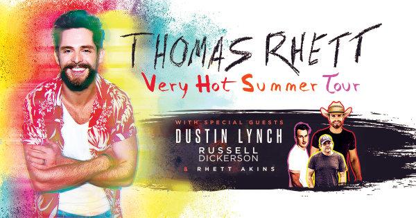 None - Win tickets to see Thomas Rhett at the Walmart AMP!
