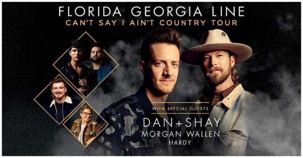 None - Win tickets to see Florida Georgia Line at The AMP!