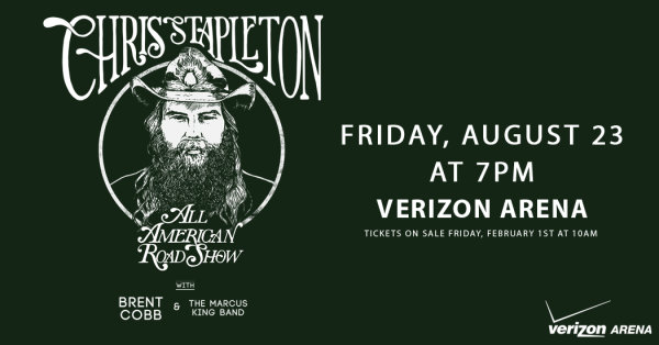 None - Win tickets to see Chris Stapleton in Little Rock!